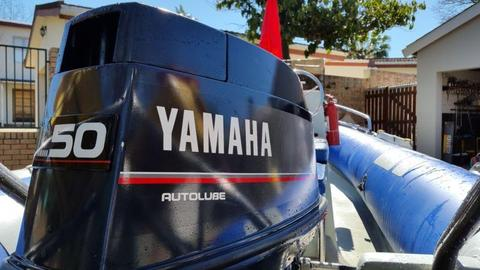 Yamaha 50 hp outboard engine for sale!