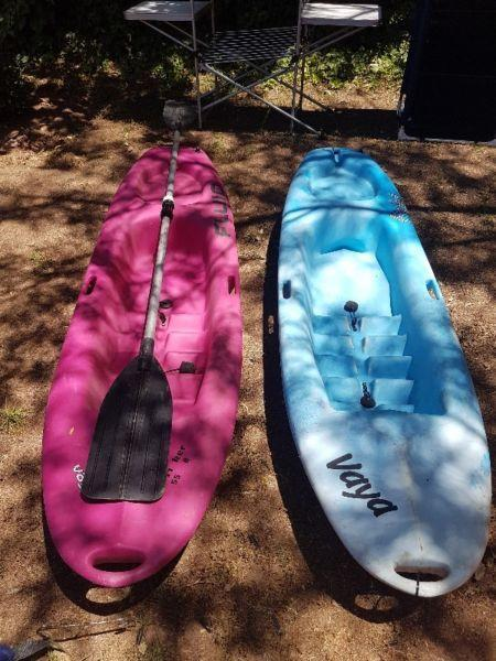 Kiddies Vaya Canoes with Paddle