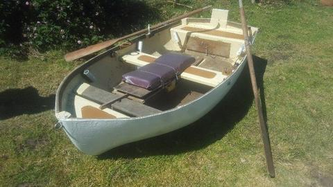 fishing rowing boat