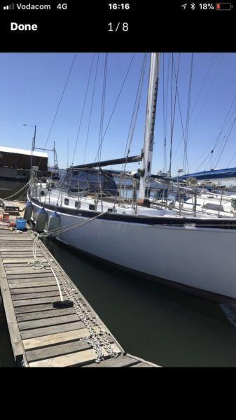 50 yacht plus mooring at RCYC