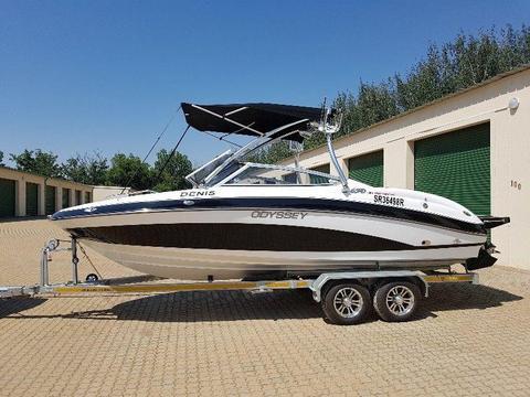 Like New Odyssey 650 Sundeck Boat with Mercruier Inboard Motor
