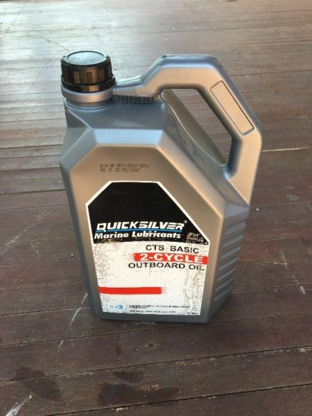 Quicksilver CTS Basic 2 Stroke Outboard Oil 5L