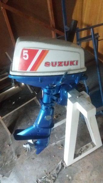Suzuki 5hp twostroke outboard for sale