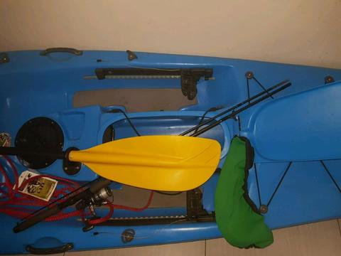 Fluid bamba kayak
