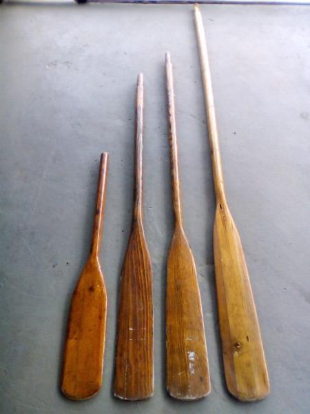 Original oak oars (price per oar)