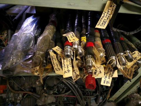 Assorted mercury drive shafts