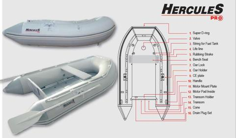 For Sale New Inflatable Hercules Pro Boat