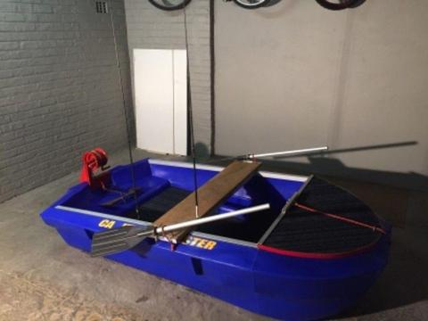 Small Plastic Bass Boat