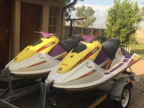 2 Yamaha Waveblaster Jetskis for sale/Swap for why