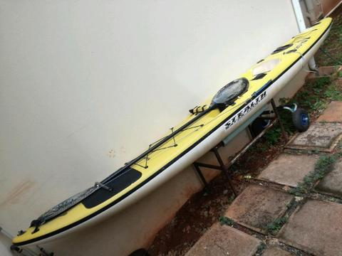 Stealth fishing kayak