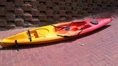 Swing Kayak with paddle