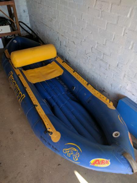 Inflatable Raft Canoe