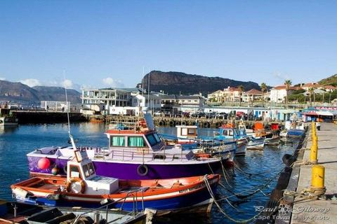daily fishing trips - leaving Kalk Bay harbour