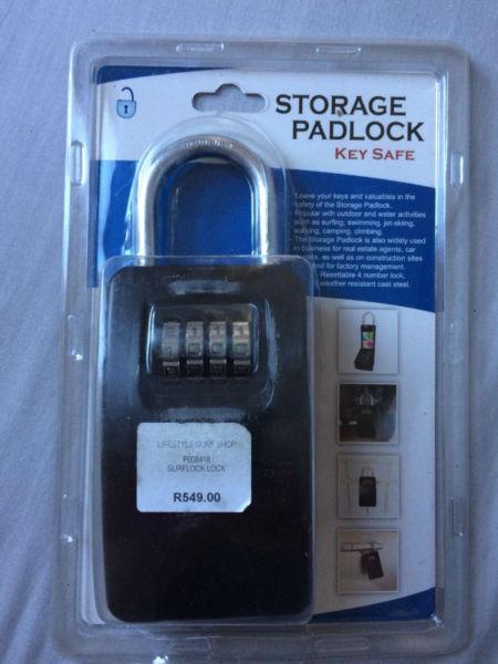 Storage Padlock Key-safe Surf lock for Sale