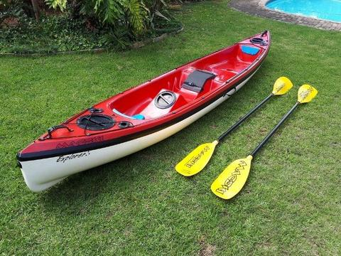 Macski Explorer Fishing Kayak - Double