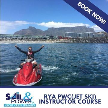 PWC (Jet Ski) INSTRUCTOR COURSE, CAPE TOWN