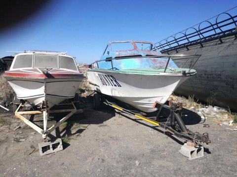2 Boats With Trailers For Sale