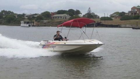 Shuttle craft jet ski docking boat