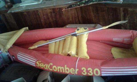 2 man inflatable canoe SEACOMER