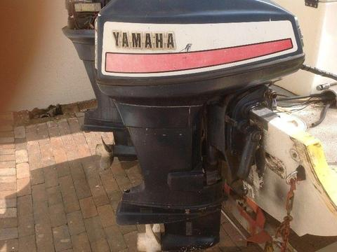 Yamaha 55hp outboard boat engine - R7500 each