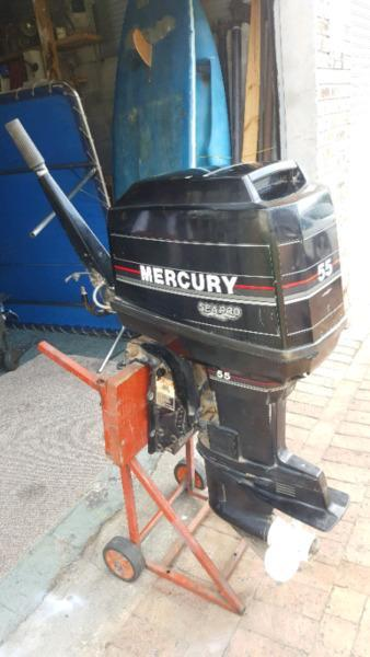 55hp Mercury Sea Pro