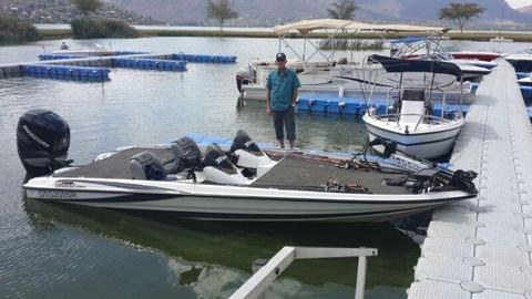 Triton TR20x2 Bass Boat Fully Rigged Tournament Ready