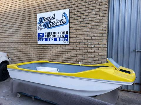 Brand new spider boats!
