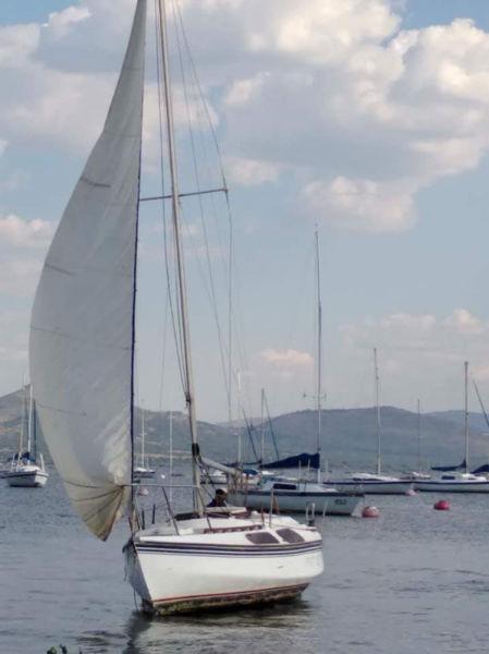 21ft Mistral Yacht