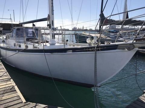 50 foot sailing sloop yacht