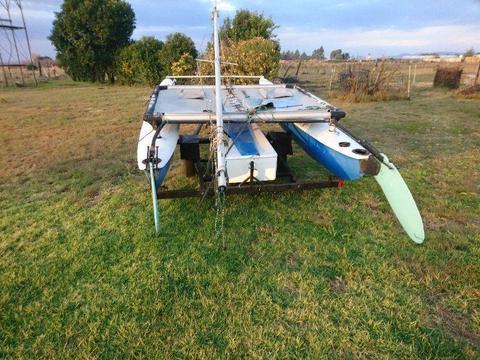 Halcat catamaran