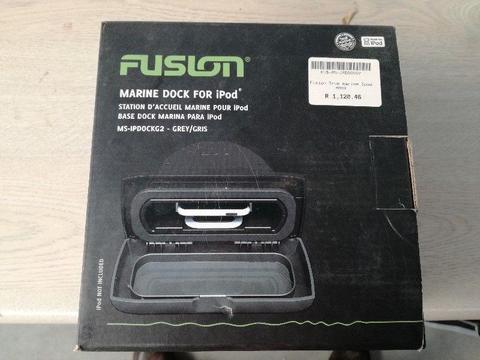 Fusion marine Dock for Ipod