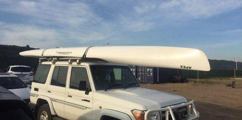 CUSTOM KAYAKS APEX double ski for sale or swop