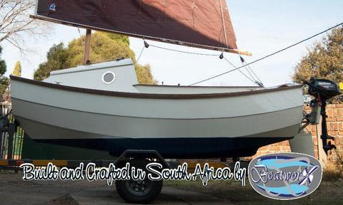 NEW: SCAMP 11 ready to sail away . . . Sail NR 136
