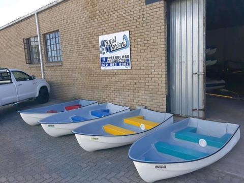New fibreglass dinghy's!