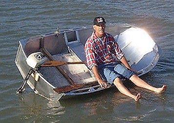 Aluminium boat lightweight
