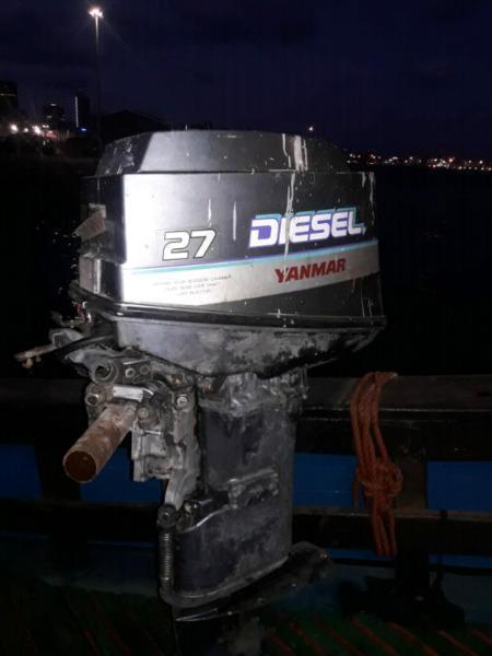 YANMAR OUTBOARD DIESEL MOTOR