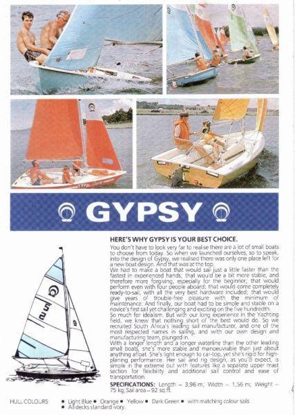Gypsy dinghies for sale