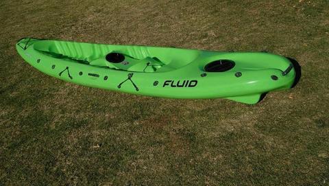 2 Seater Kayak with 2 paddles R5500
