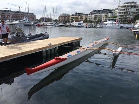 Outrigger canoe - 6 man