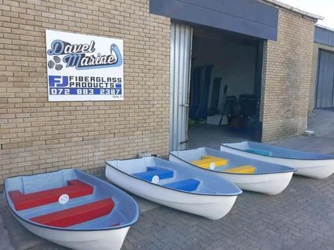 New fibreglass dinghy's!!!