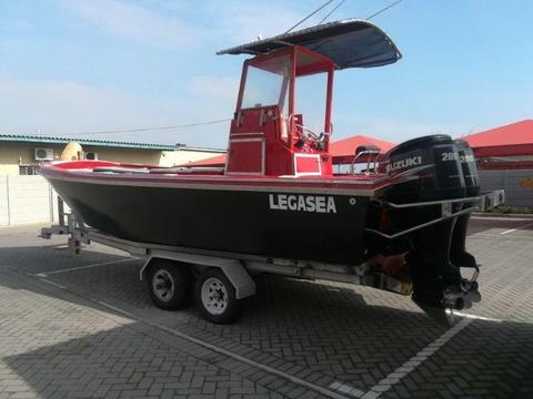 Cape Craft 25 ft 200 Hp Suzuki 4 Strokes (385 hours) Very Good Condition!