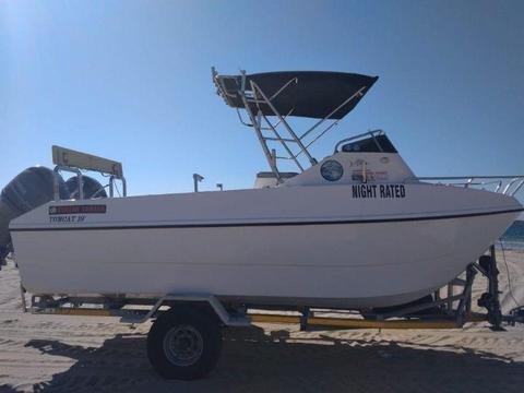 19FT TOM CAT FORWARD CONSOLE
