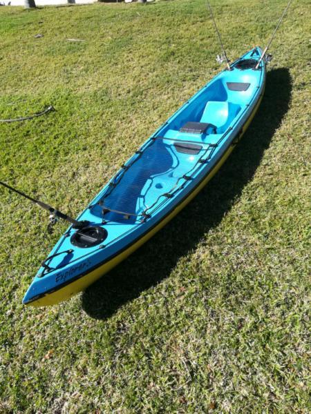 Macski Explorer Fishing SOT Kayak