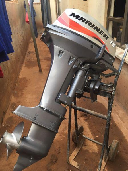 15hp mariner outboard motor for sale