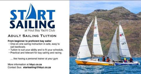 Sailing tuition in Hout Bay