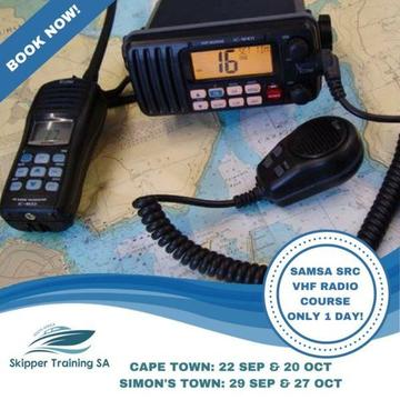 SAMSA SRC VHF MARINE RADIO COURSE, CAPE TOWN & SIMON'S TOWN (ONLY 1 DAY!)