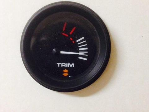 Quicksilver trim gauges