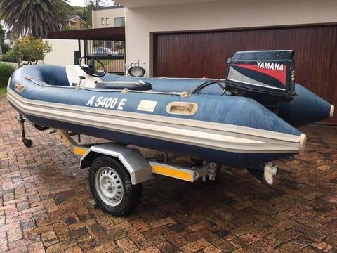 Watercraft Rubber duck boat