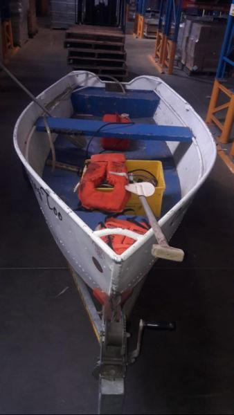 Classic Tinnie with 15hp Mercury for sale