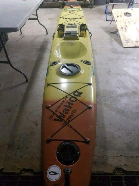 Stealth Supalite BFS fishing kayak